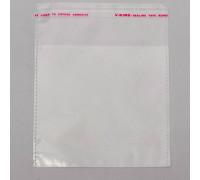 Пакет с клеевым клапаном 10 х 10/4 см, 25 мкм