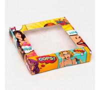 """Коробка самосборная, """"Pop-art, 16 х 16 х 3 см"""