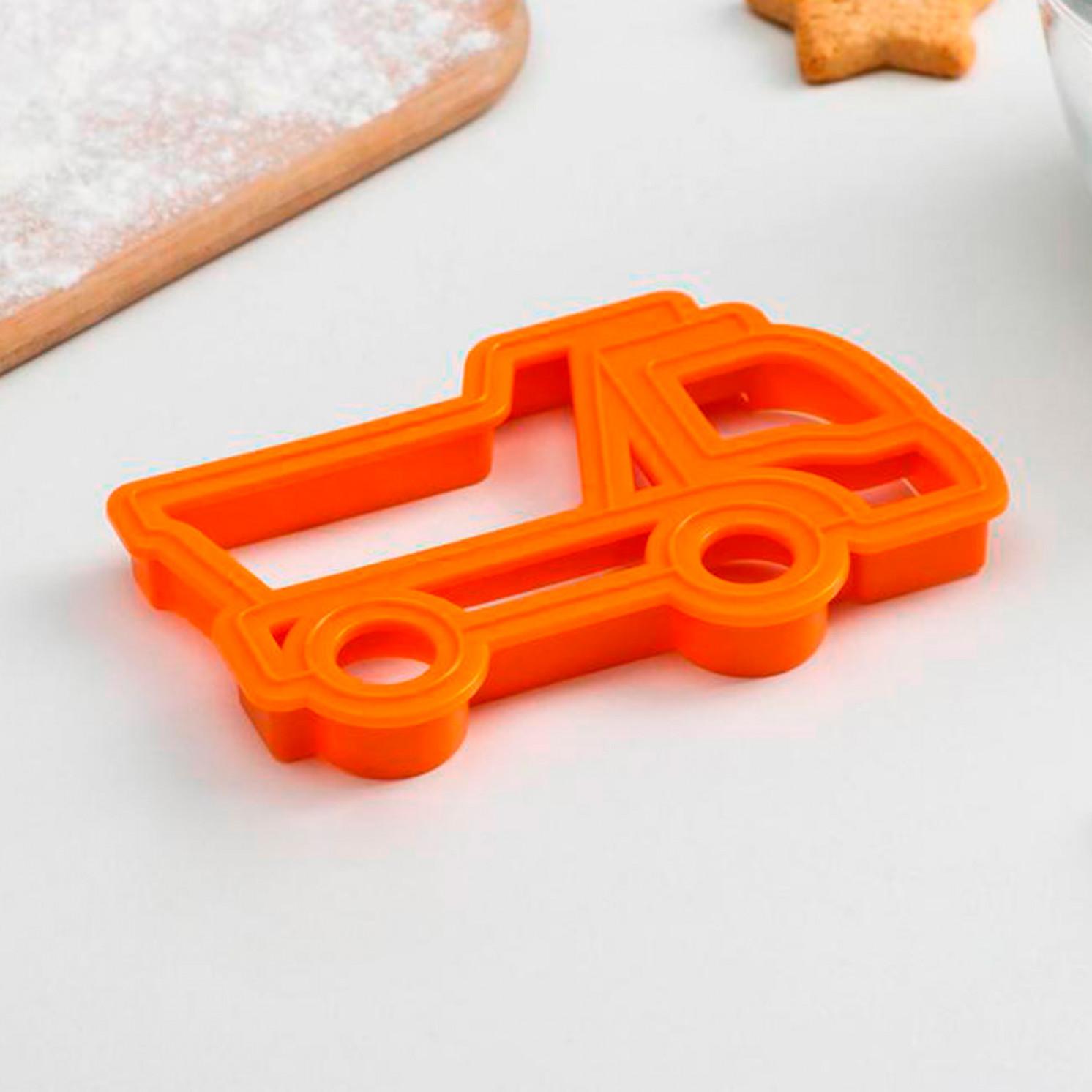 Форма для печенья и пряников «Грузовик», 11,5×7,5×1,5 см