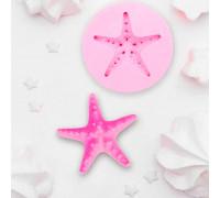 Молд силиконовый «Морская звезда», 7,5×7,5×1,8 см, цвет МИКС