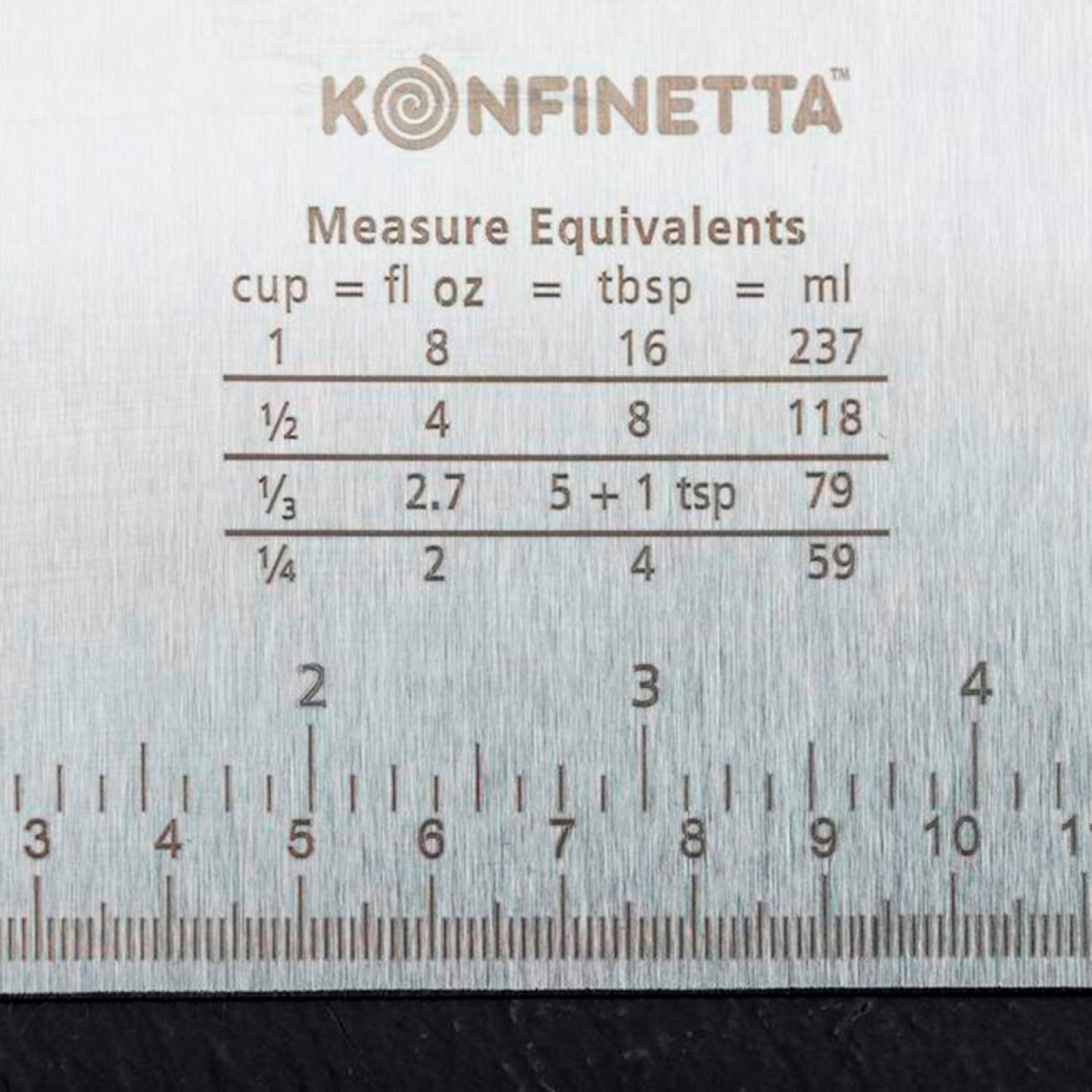 Шпатель кондитерский с размерной линейкой 15×11,5 см