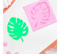 Молд силиконовый «Лист.Тропики», 6,5×6,5 см