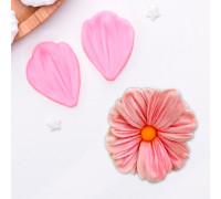 Молд силиконовый «Лепесток тюльпана», 2 части, 4,5×3 см, цвет МИКС