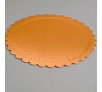 Подложка усиленная, волна, 30 см, золото-черный, 3,2 мм 4608744