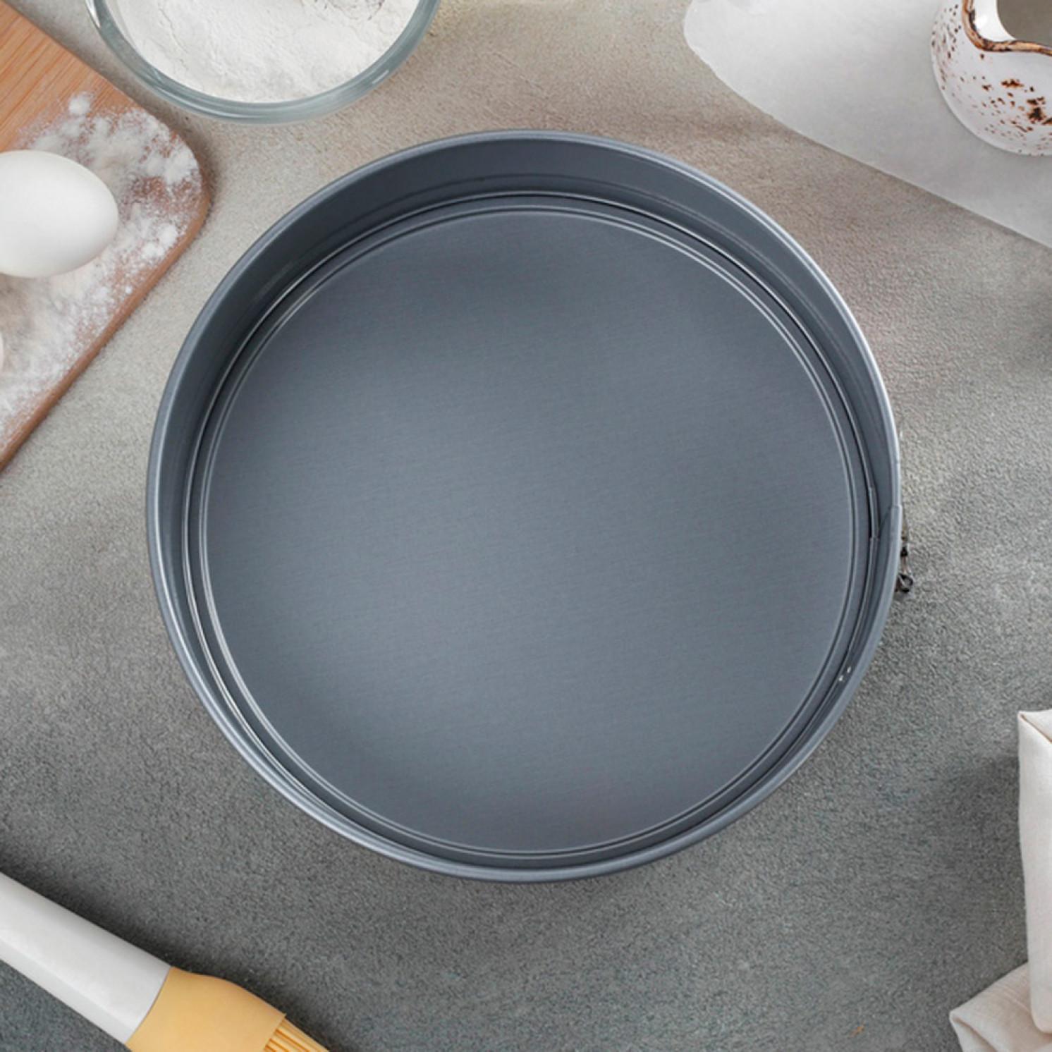 Форма для выпечки разъёмная «Ромб», d=22 см, с антипригарным покрытием