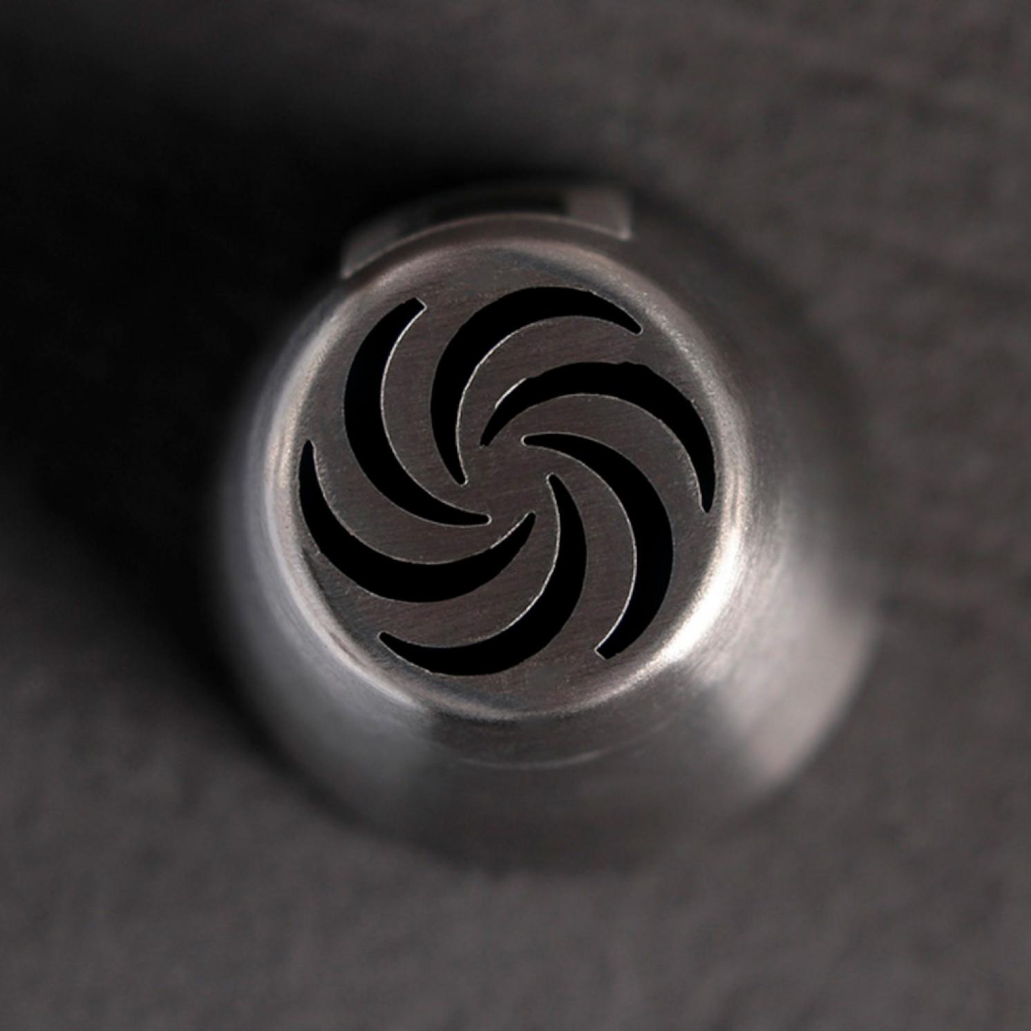 Насадка кондитерская «Вихрь», d=3,7 см, вых. 2 см