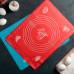 Коврик с разлиновкой «Эрме», толщина 1 мм, 38×28 см, цвета МИКС