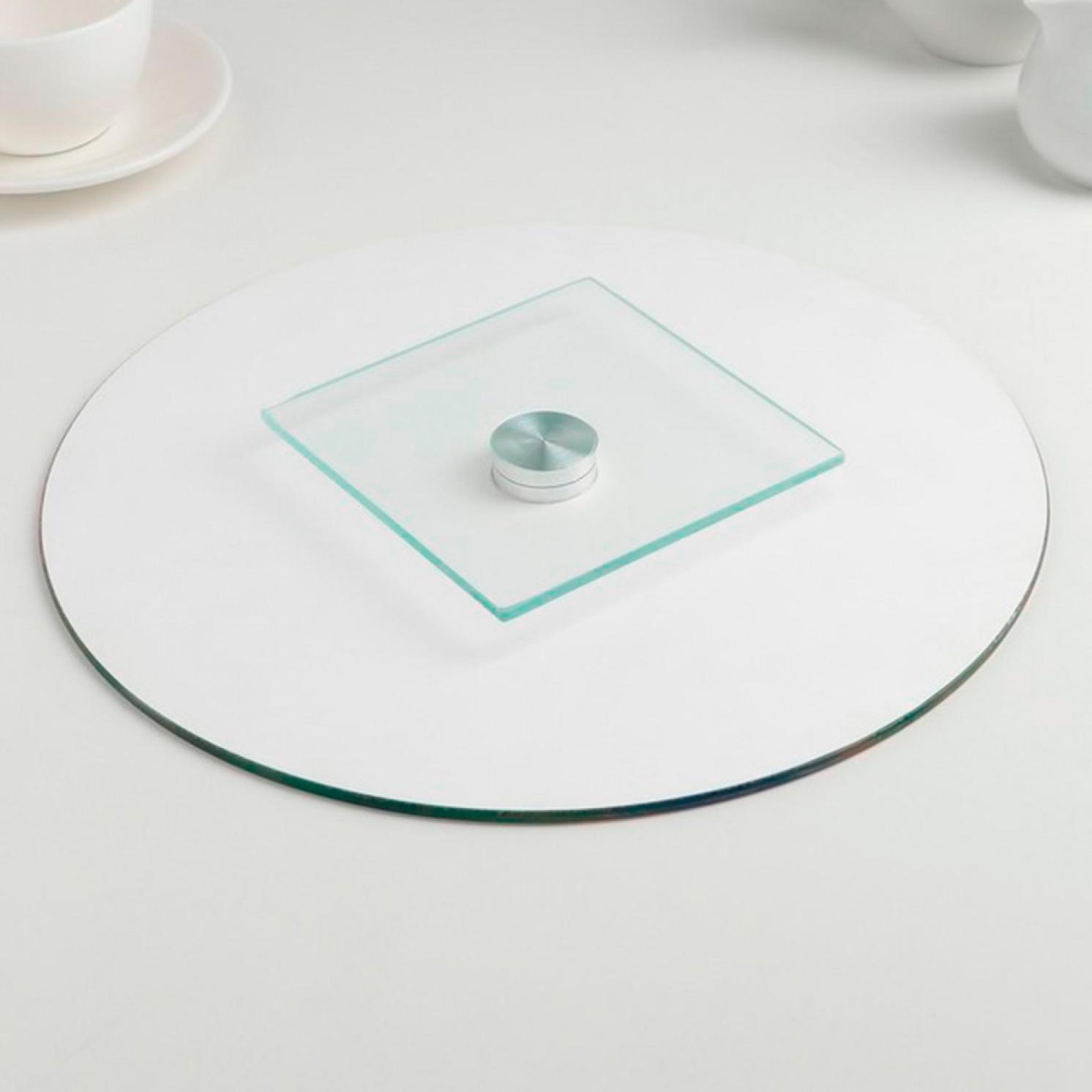 Подставка для торта вращающаяся «Селена», d=28 см