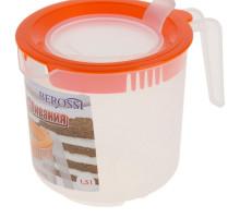 Ёмкость для миксера 1,5 л , цвет оранжевый