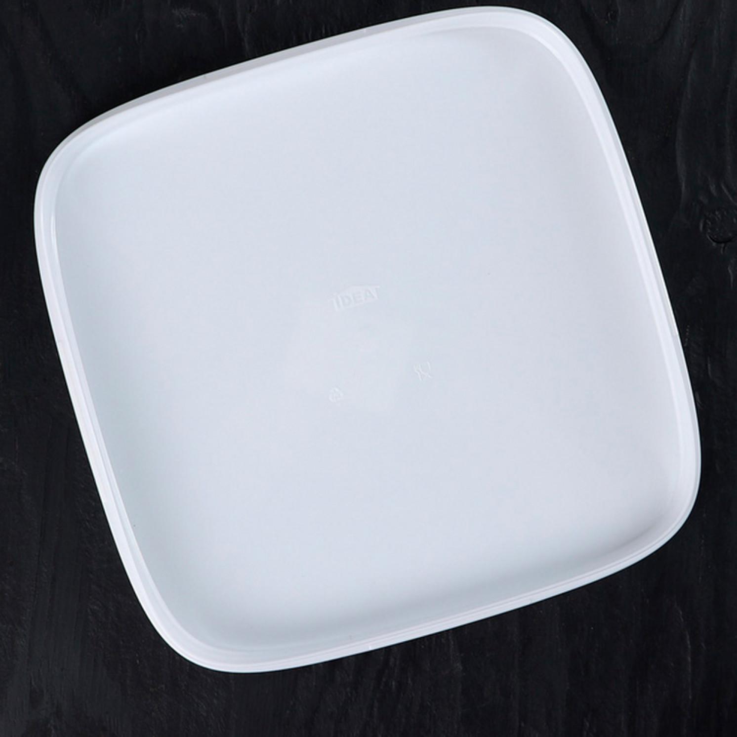 Тортница с защёлками IDEA, цвет белый