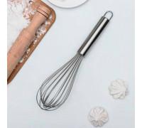 Венчик кулинарный «Сильвер», струна 1,3 мм, 30×8×8 см