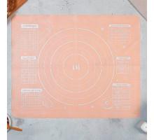 Силиконовый коврик для выпечки «Сладкая булочка», 50 х 40 см
