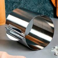 """Форма для выпечки и выкладки с регулировкой размера """"Круг"""", D-12-20, H-12 см"""
