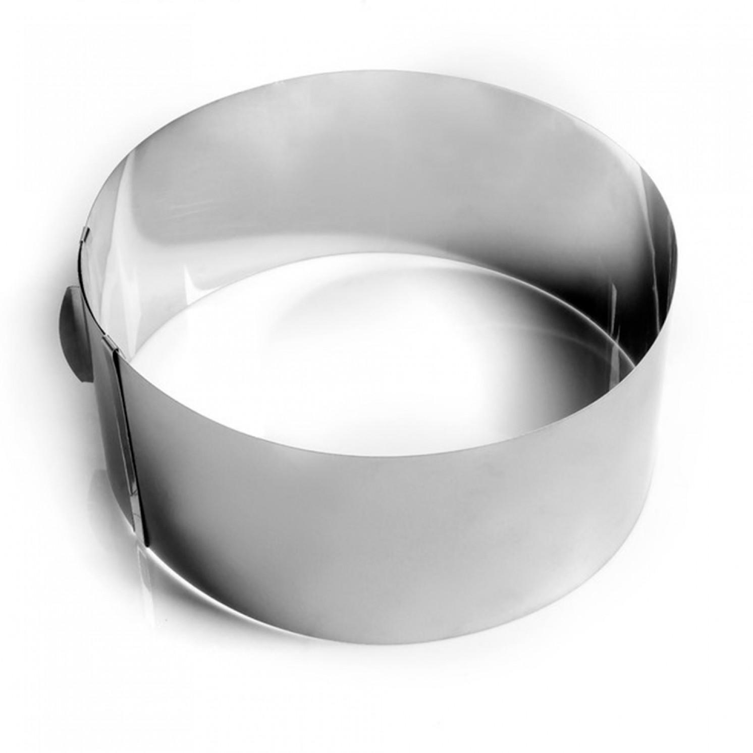 """Форма для выпечки и выкладки с регулировкой размера """"Круг"""", D-20-38, H-14 см"""