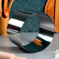 """Форма для выпечки и выкладки с регулировкой размера """"Круг"""", D-20-38, H-12 см"""