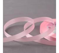 Лента атласная, 10 мм × 23 ± 1 м, цвет жемчужно-розовый №43