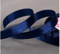 Лента атласная, 12 мм × 23 ± 1 м, цвет тёмно-синий №38