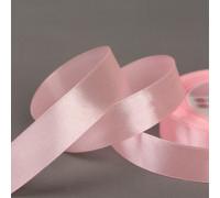 Лента атласная, 20 мм × 23 ± 1 м, цвет розовый №04