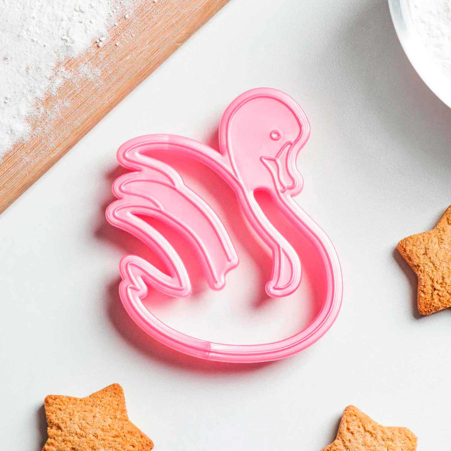 Форма для печенья и пряников «Лебедь», 10×8,5×1,5 см