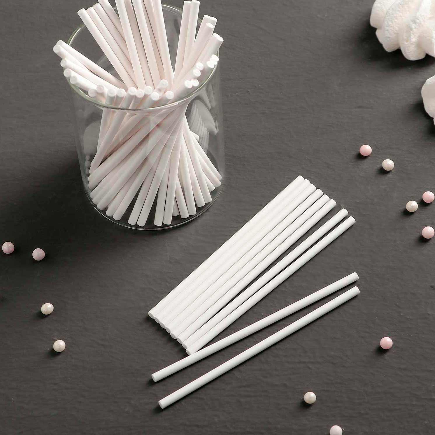 Набор палочек-дюбелей для кондитерских изделий , 10 см, 50 шт