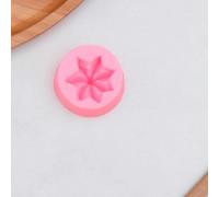 Молд «Звёздочка», 3,5×3,5×2,5 см, цвет розовый
