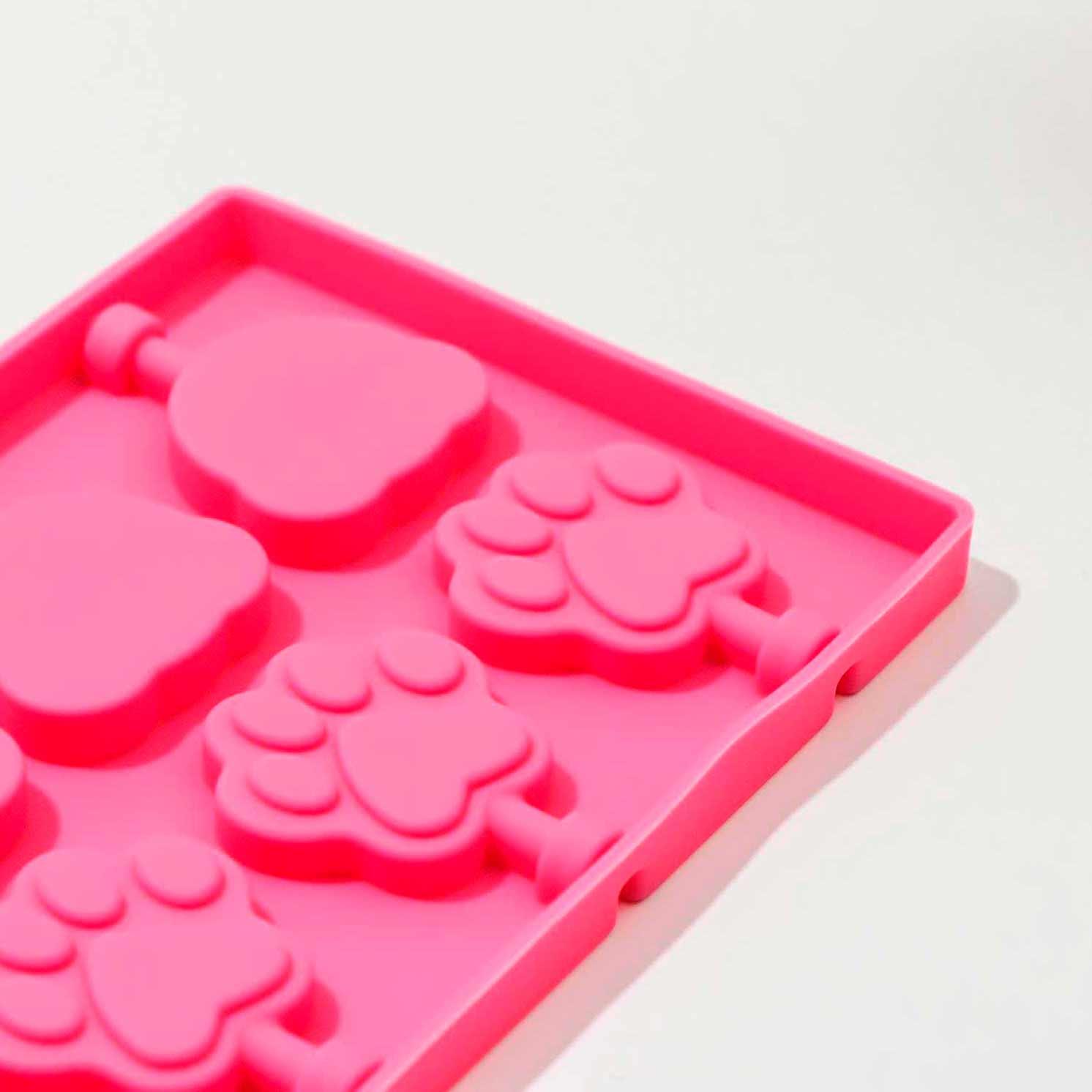 Форма для леденцов «Мишка», 25×10,5×1, цвет МИКС