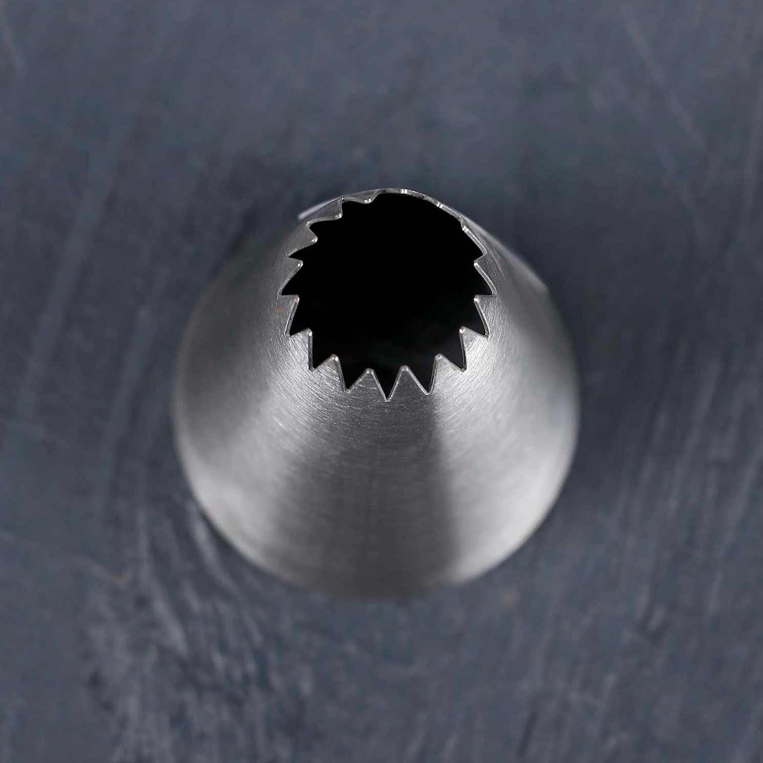 Насадка кондитерская «Французская звезда», d=3,4 см, вых. 1,4 см
