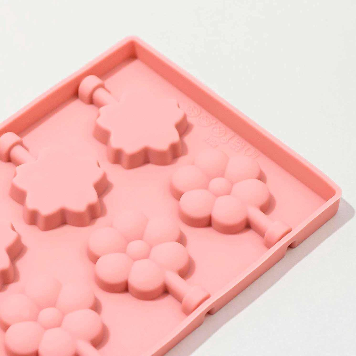 Форма для леденцов «Клумба», 25×10,5×1, 12 ячеек, цвет МИКС