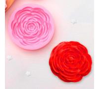Молд силиконовый «Прекрасная роза», 5,7×5,7 см, цвет МИКС