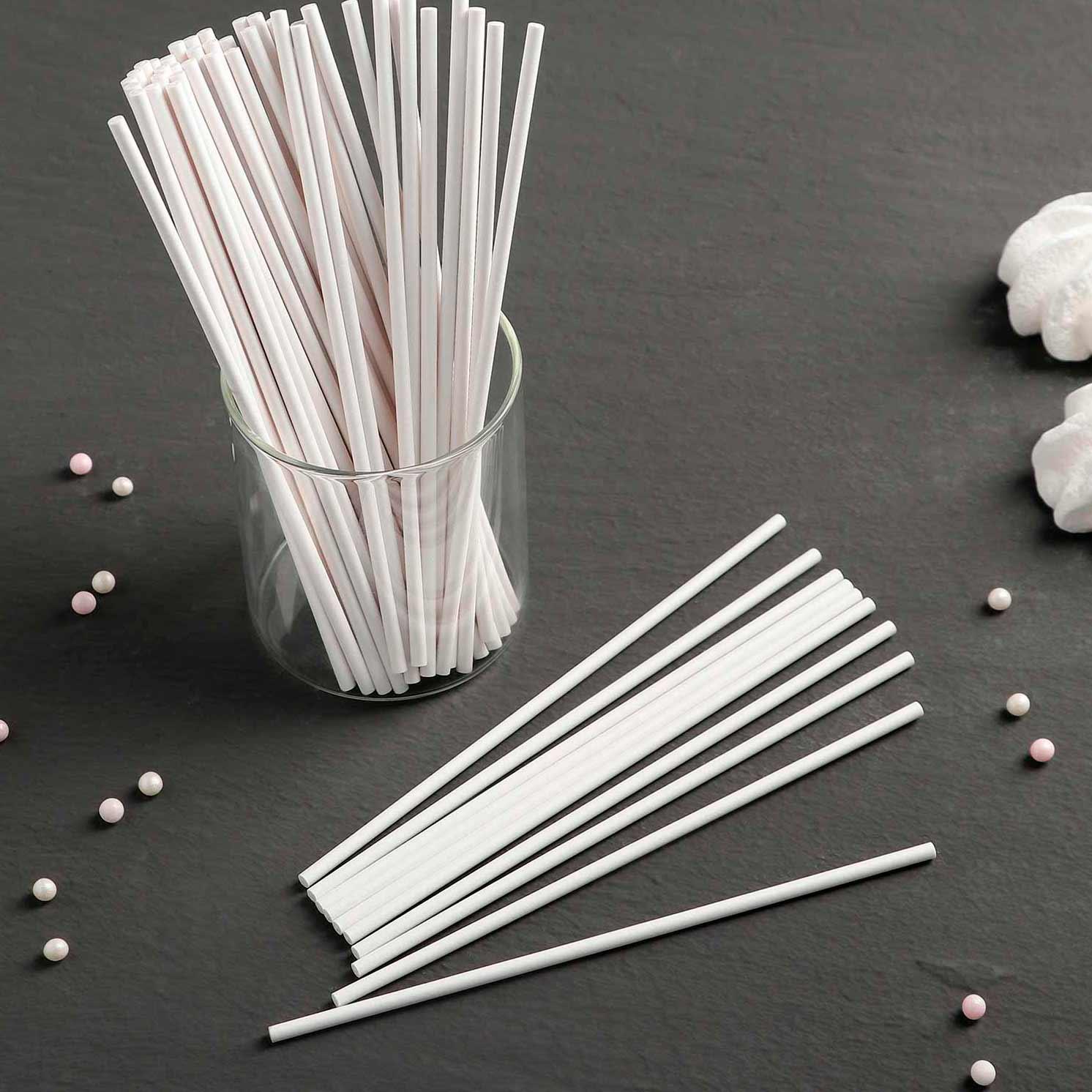 Набор палочек-дюбелей для кондитерских изделий, длина 15 см, 50 шт