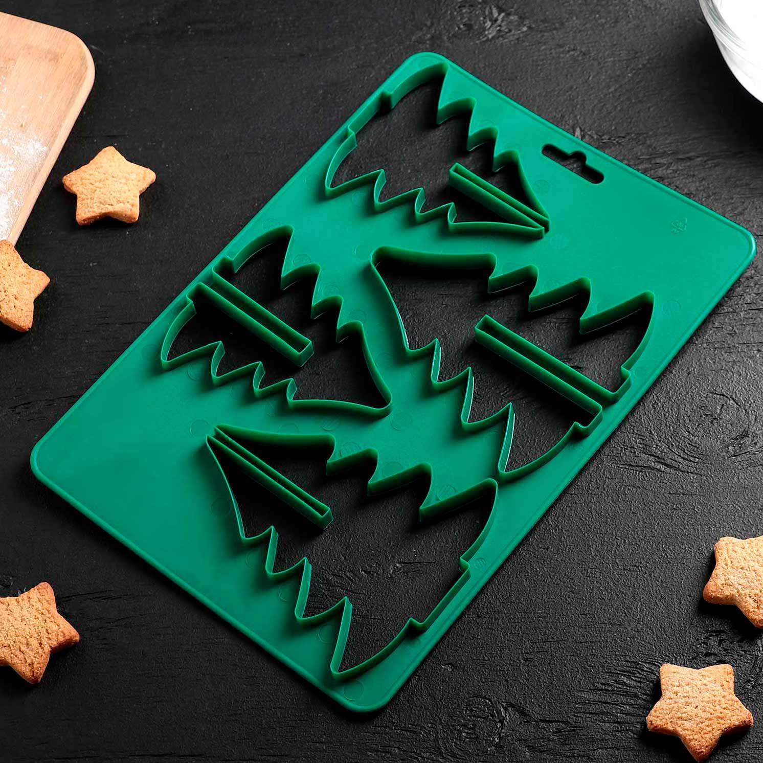 Форма для вырезания печенья «Ёлочка», 28×19 см