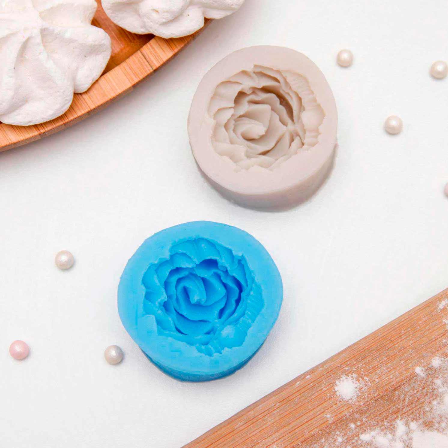 """Молд силиконовый 4,5×2 см """"Роза"""""""