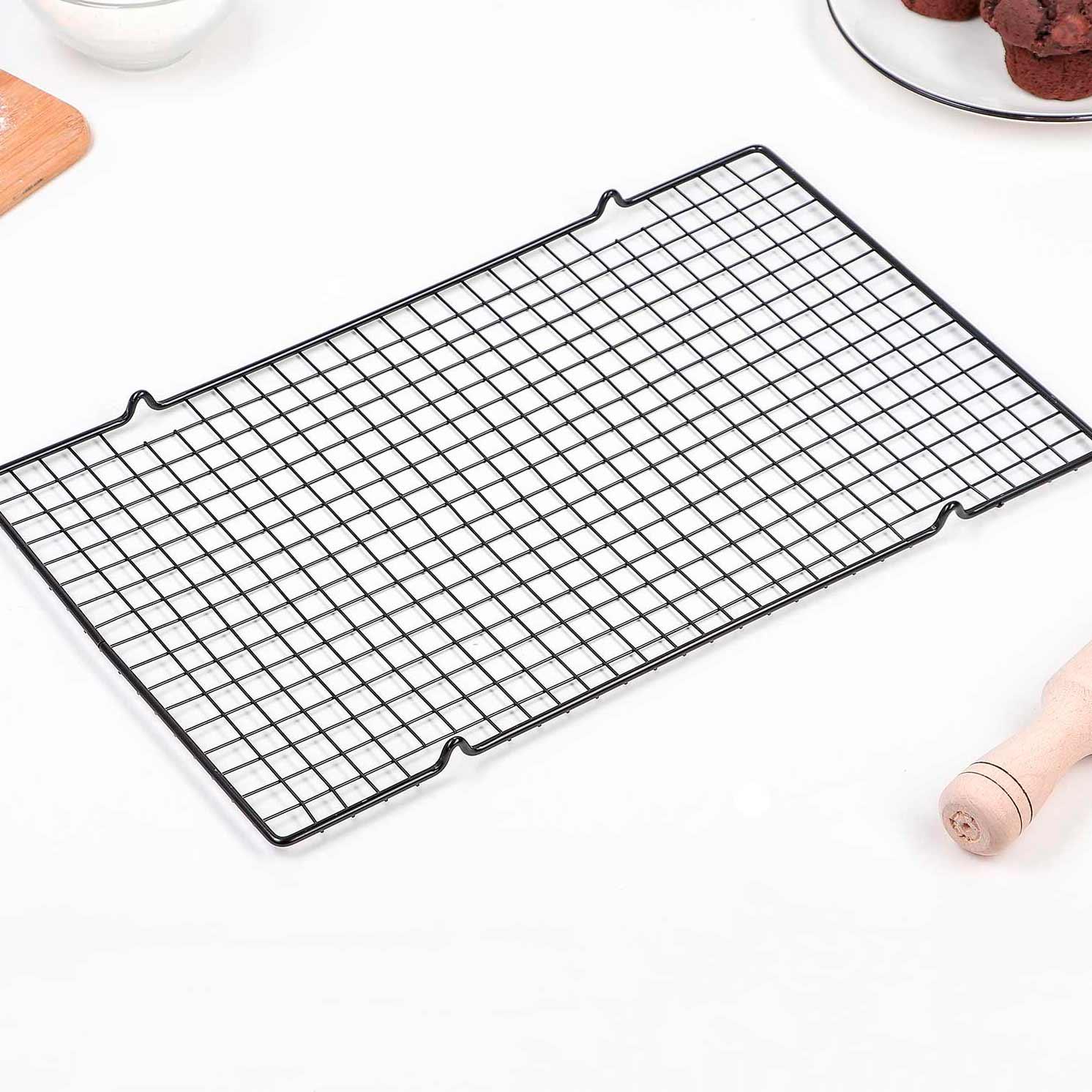 Решётка для глазирования и остывания кондитерских изделий 40×25×1,5 см