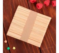 Палочки деревянные для мороженого, 48-50 шт, 11,5×1,1 см