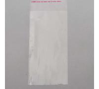 Пакет с клеевым клапаном 10 х 20/4 см, 25 мкм, 1 шт