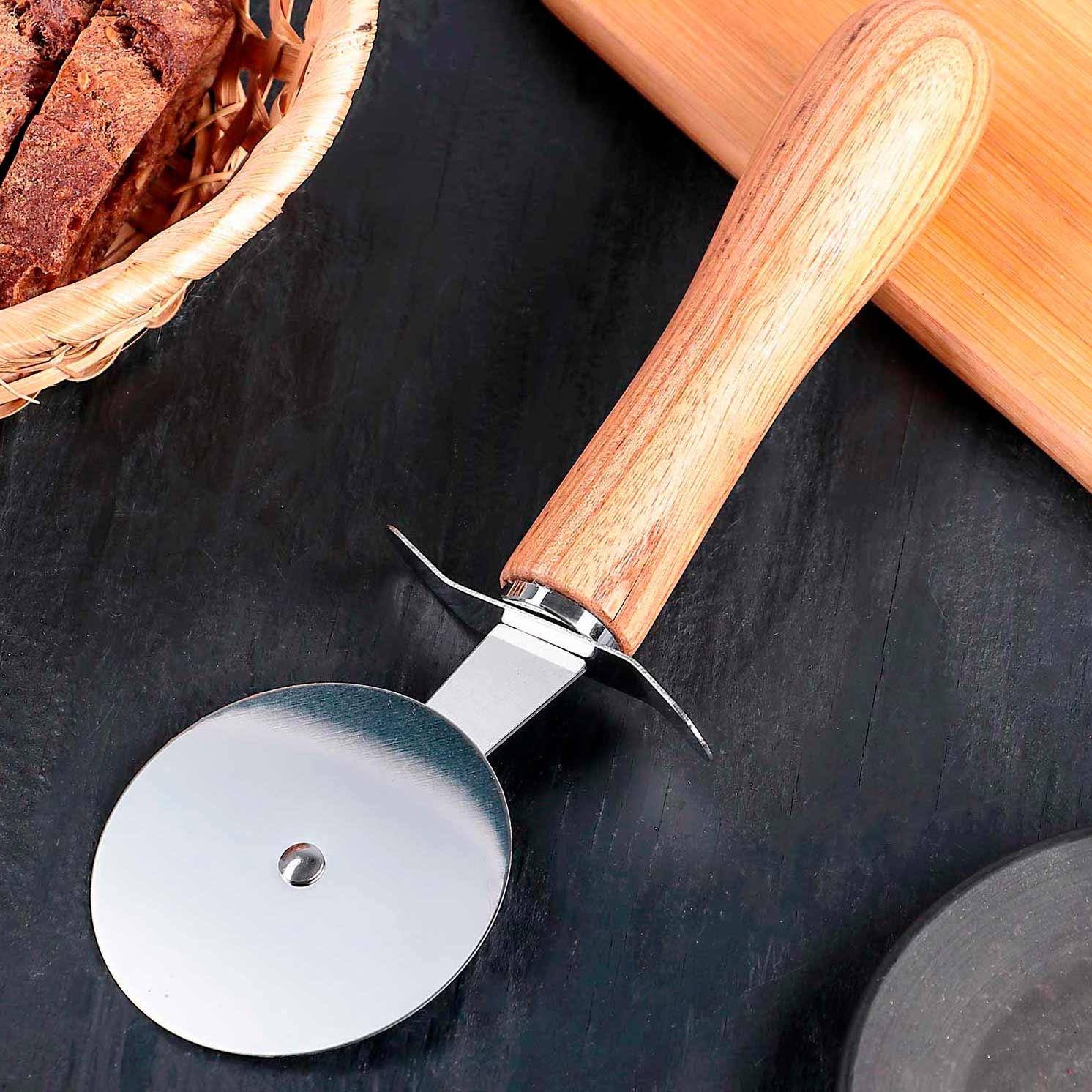 Нож для пиццы и теста «Кафу», 20,5 см, ручка из бразильской гевеи