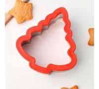 """Форма для вырезания печенья 9,7×5×10,7 см """"Ёлка"""""""