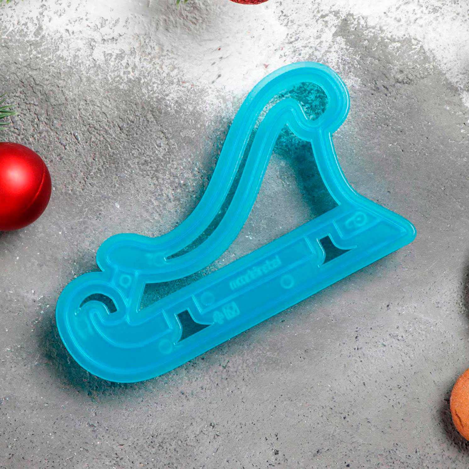 Форма для печенья и пряников «Сани»