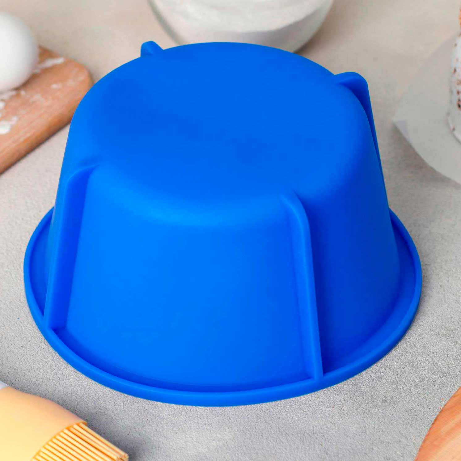 Форма для выпечки «Кекс», 17,8×9 см, цвет МИКС