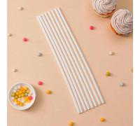 Набор палочек-дюбелей для кондитерских изделий, 8 шт, d=0,7 см, длина 30 см