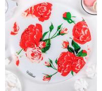 Подставка для торта «Розовый рай», d=30 см, в подарочной упаковке