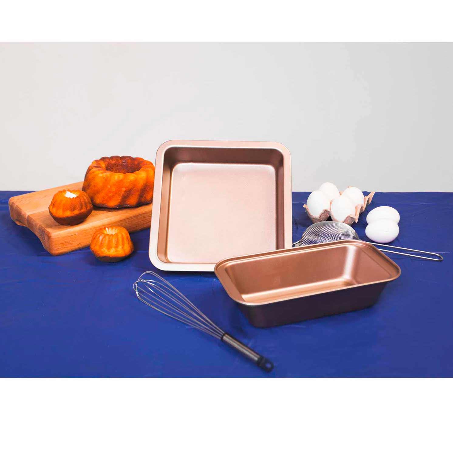 Форма для выпечки «Рэнди», 25×13×6 см, антипригарное покрытие