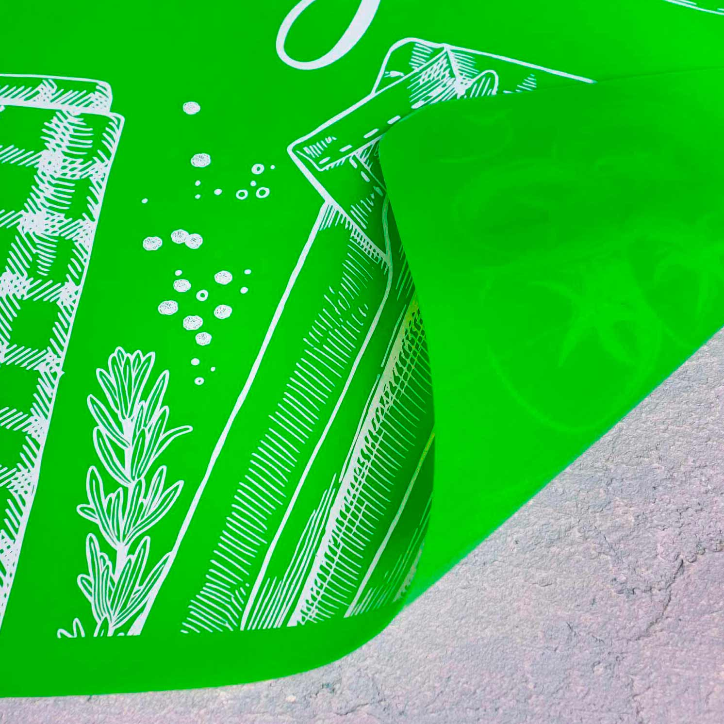 Силиконовый коврик для выпечки I love Baking, 50 х 40 см 4679581