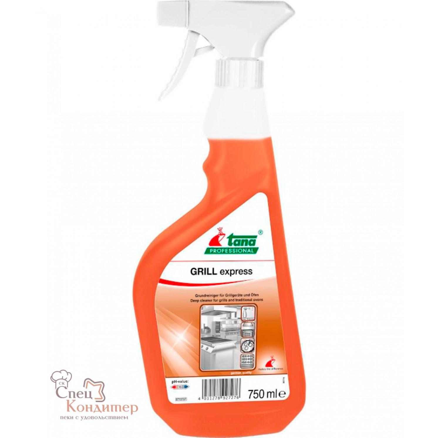 Tana GRILL express Средство для очистки печей, грилей и т.д. 750мл