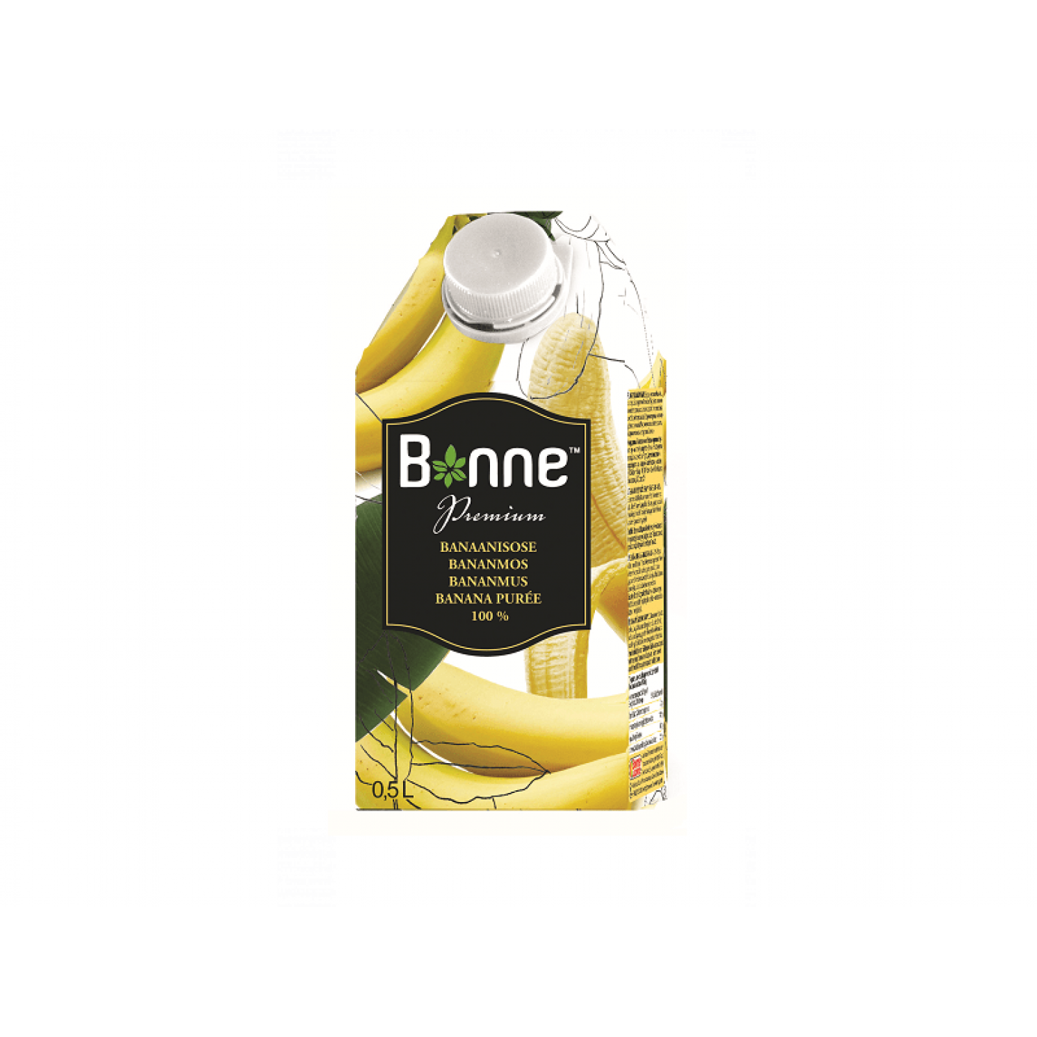 Банановое пюре Bonne 0,5 л