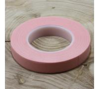 Тейп Лента флористическая широкая Розовая