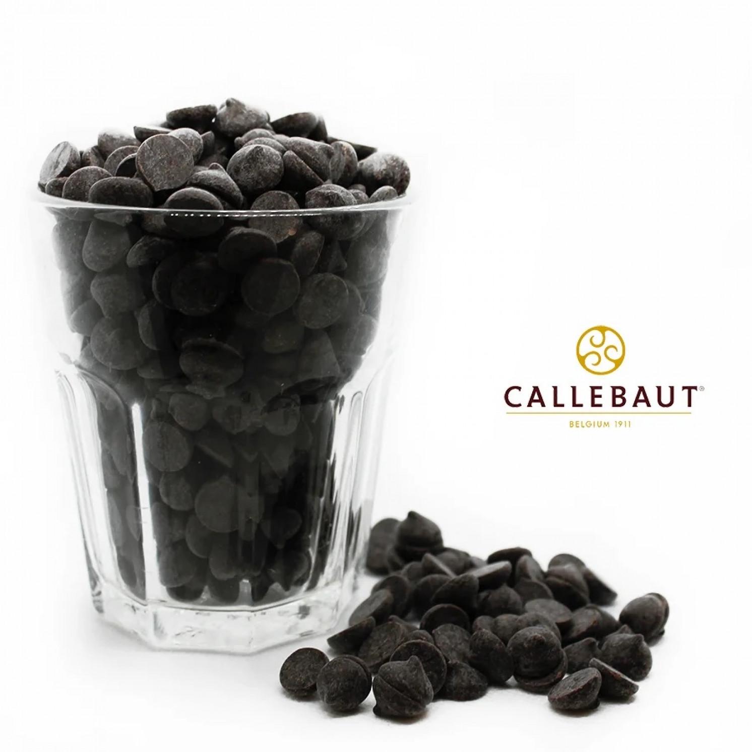 "Шоколад горький темный ""Callebaut"" 70,5% какао, каллеты 200 г"