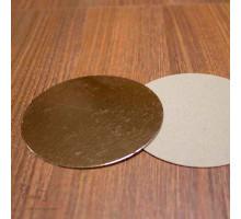 Подложка усиленная золото D 260 мм ( Толщина 2,5 мм )