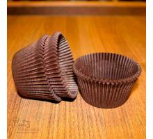 Тарталетки круг 140 (коричневая), 55*43 мм, 90 шт/уп.