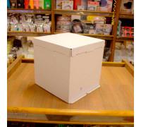 Короб картонный белый 300х300х300 мм